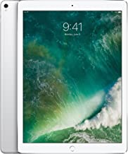 Apple iPad Pro 2nd 12.9in with (Wi-Fi + Cellular) 2017 Model, 64GB, Silver (Renewed)