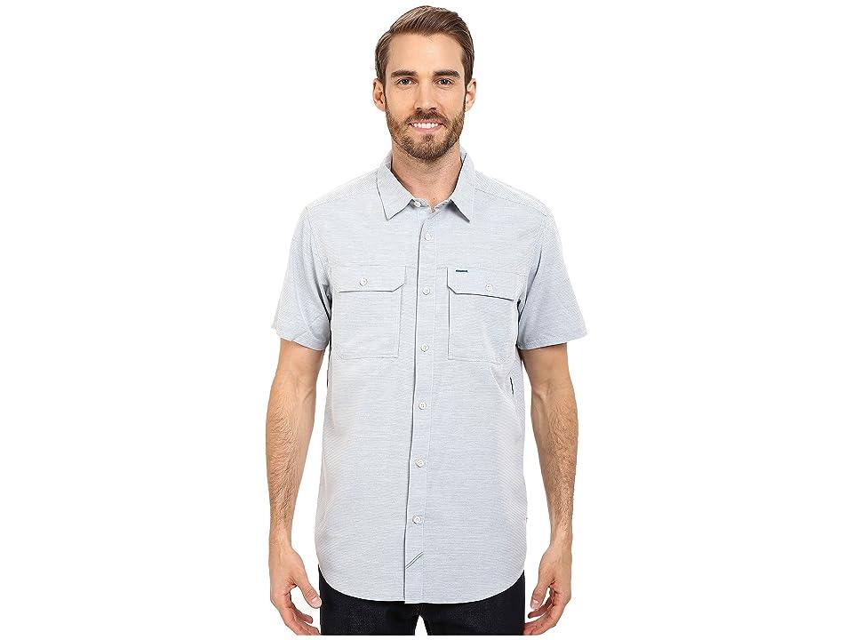 Mountain Hardwear Canyontm S/S Shirt (Phoenix Blue) Men