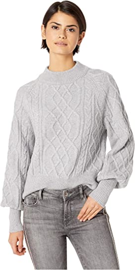1fde2f1ac3d43 1.STATE Crew Neck Blouson Sleeve Sweater at Zappos.com