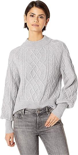 a191707b7e57e 1.STATE Crew Neck Blouson Sleeve Sweater at Zappos.com