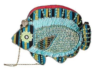 Betsey Johnson FSSSHHH Crossbody (Blue) Cross Body Handbags