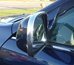 TRUE LINE Automotive 2 Piece Chrome Side Mirror Trim Molding Kit