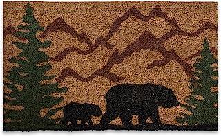 "DII Animal Collection Natural Coir Doormat, 18x30"", Bear Country"