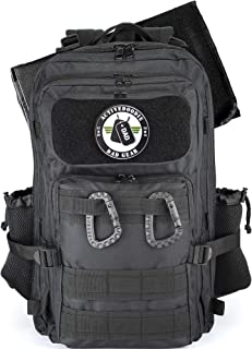 Dad Diaper Bag Backpack, Changing Pad, Stroller Straps, Multifunction Diaper Bag for Dad, Black