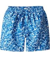 Paul Smith Junior - Pool All Over Printed Swim Trunk (Big Kids)