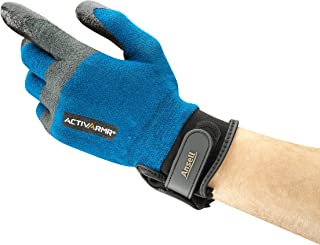 Ansell ActivArmr 97-003 Cut Protection Gloves - Heavy-Duty, Wet and Dry Grip, Breathable, Size Large (1 pair)