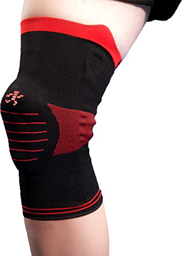 Knee Brace Support Sleeve with Side Stabilizers and Patella Padding for Post Surgery, Knee Replacement Treatment, ACL...