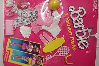 Barbie Tennis and Sketboard Fashion Set
