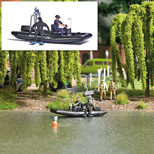 Busch-Jaeger H0 BU See mit PolizeiStiefel