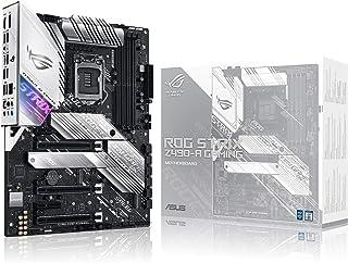 ASUS ROG Strix Z490-A Gaming Z490 LGA 1200(Intel® 10th Gen) ATX White Scheme Gaming Motherboard (12+2 Power Stages, DDR4 4...