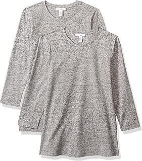 Amazon Brand - Daily Ritual Women's Stretch Supima 3/4-Sleeve Crew Neck T-Shirt