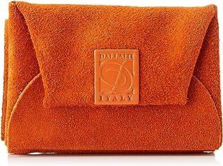 Dallaiti Design Portafoglio Con Porta Monete In Pelle Pigmentata, Portamonete Donna