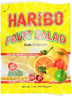 Haribo Gummies - Fruit Salad - 5 oz