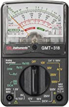 Gardner Bender GMT-318 Analog Multimeter, 6 Function, 14 Range, AC/DC Volt