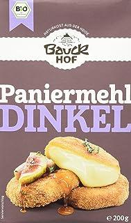 Bauckhof Dinkel-Paniermehl, 6er Pack 6 x 200 g Tüte - Bio