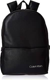 Calvin Klein Direct Round Backpack Bag, Black, 42 cm, K50K505124