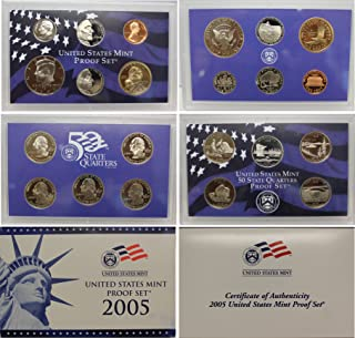 ESTATE LOT ~ PROOF SETS MINT SETS 1965-2010 GEM UNC /& CAMEO COINS w// Box /& COA