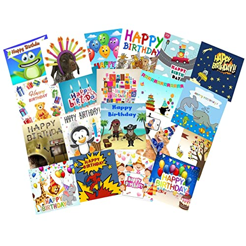 20 BIRTHDAY CARDS FOR CHILDREN