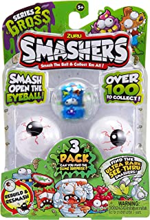 ZURU Smashers S2 Collectibles In Smashball, Multi-Colour, 7416, Pack of 3