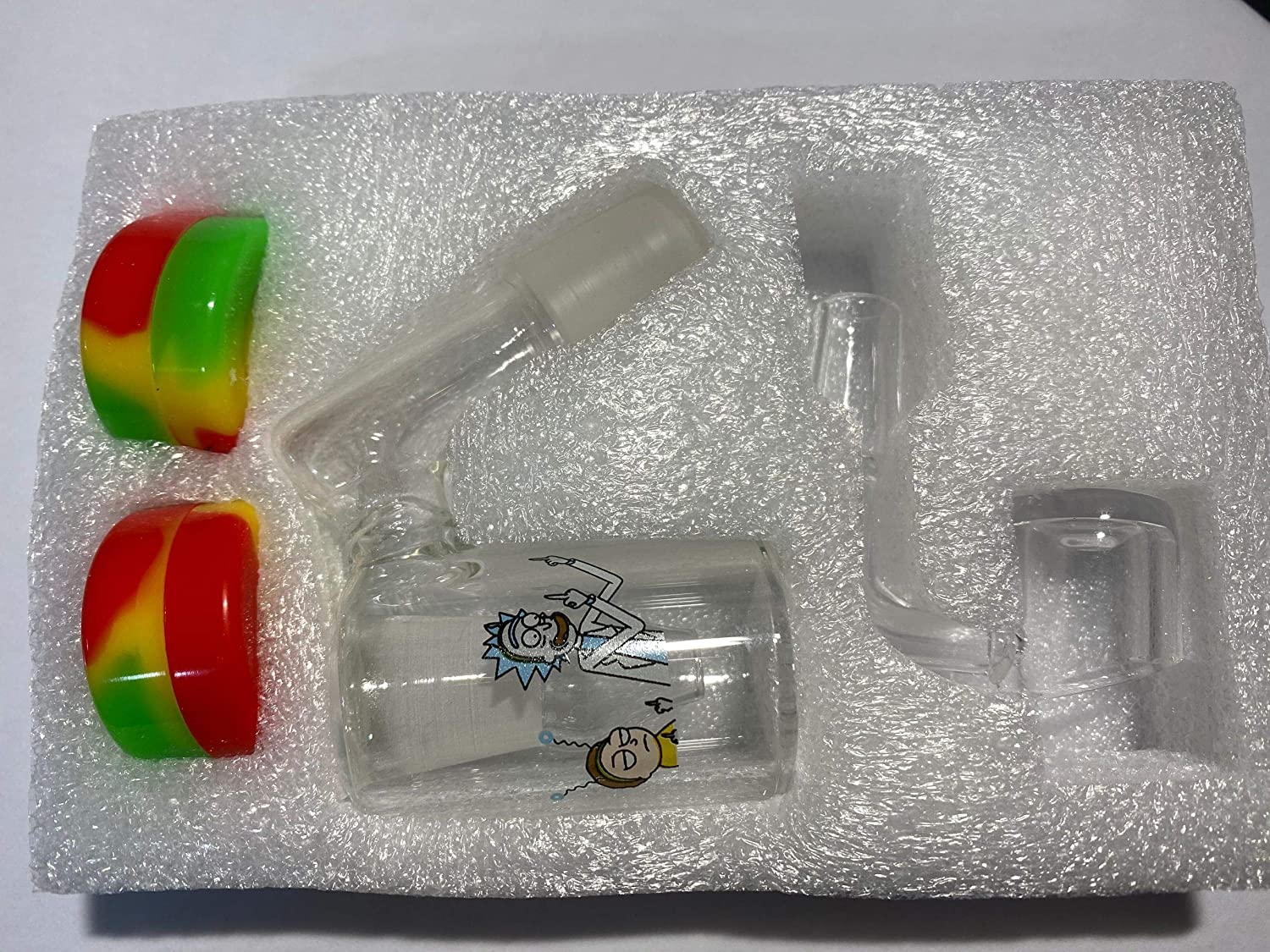 18mm 45degree DLJ-WX Can be reused 14mm 18mm Collector and Silicone Container