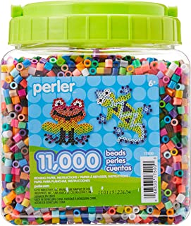 Perler Beads Assorted Multicolor Fuse Beads for Kids Crafts, 11000 pcs