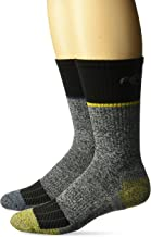 Carhartt Men's Force Performance Steel Toe Crew Socks-2 Pair