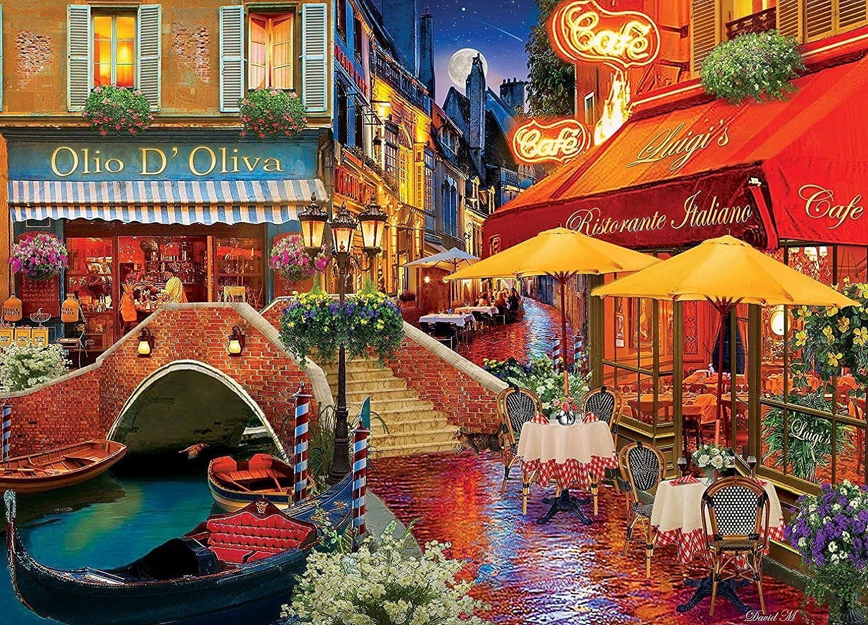 MasterPieces colorscapes  It's Amore  1000pc Puzzle