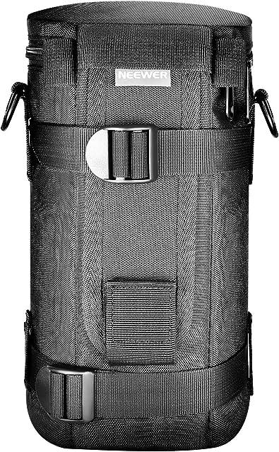 Neewer NW-L2070 Bolsa del Hombro Negro Impermeable Estuche con Correa para Lente Objetivo 70-200mm como Canon 70-200/2.8IS 100-400 180mm/ Nikon 70-200 80-400 180-2.8