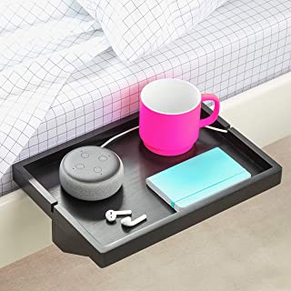 BedShelfie L'étagère de Chevet Originale - 3 Couleurs / 2 Tailles - comme VU sur Business Insider (Ordinaire, Noir)