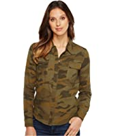 Splendid - Camo Print Double Cloth Shirt