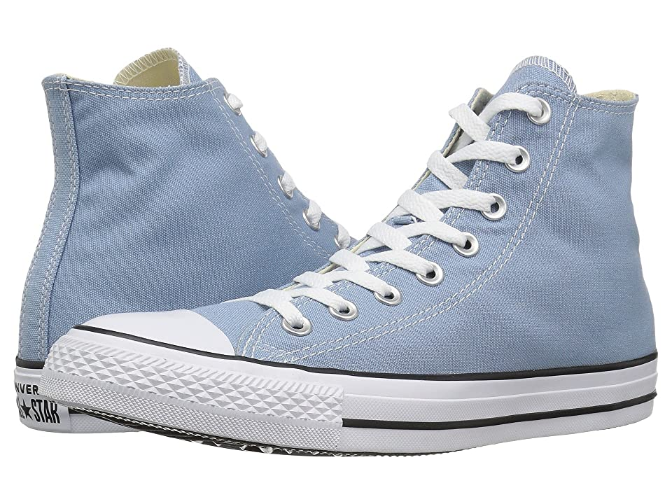Converse Chuck Taylor(r) All Star(r) Seasonal Color Hi (Washed Denim) Lace up casual Shoes