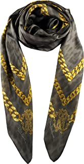 Women's 140 x 140 Shawl, Silver/Gold, One Size