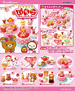 Re-Ment Rilakkuma Strawberry Sweets Party (Complete Set)