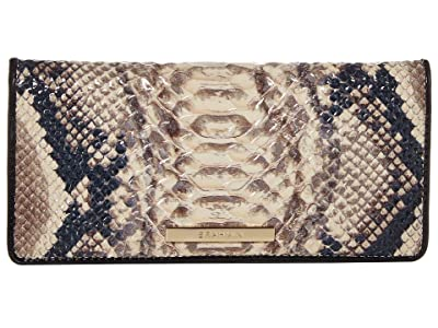 Brahmin Ady Wallet (Latte) Wallet Handbags
