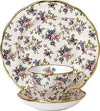 Royal Albert 100 Years 1940 Teacup, Saucer and Plate Set