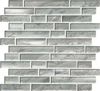silver canvas tile