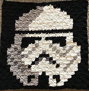 stormtrooper crochet blanket