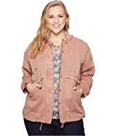 Lucky Brand Plus Size Hooded Jacket
