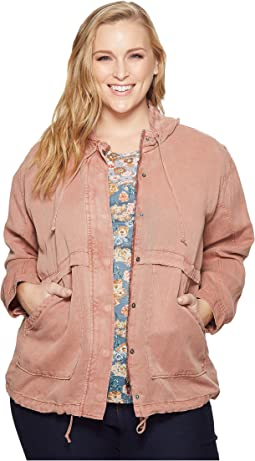 Lucky Brand - Plus Size Hooded Jacket