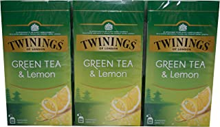 Twinings of London Green Tea & Lemon 3 x 25 Teebeutel