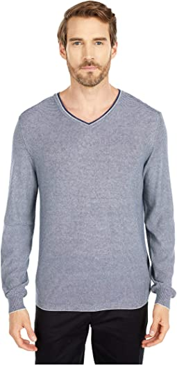 Filipo Long Sleeve Sweater V-Neck