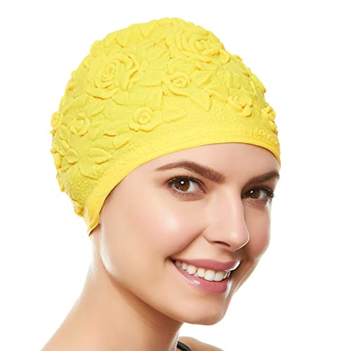 acheter pas cher vente chaude réel acheter bien Swim Hats: Amazon.com