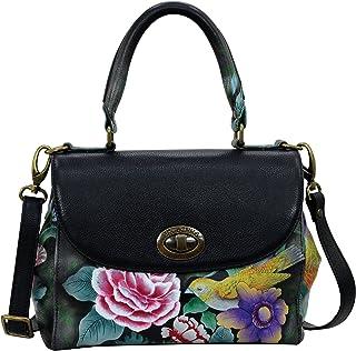 Anuschka Handbags Women's 624 Medium Flap Satchel