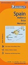 Michelin Spain: Balearic Islands Map 579: (mallorca, Ibiza, Menorca) (Maps/Regional (Michelin))