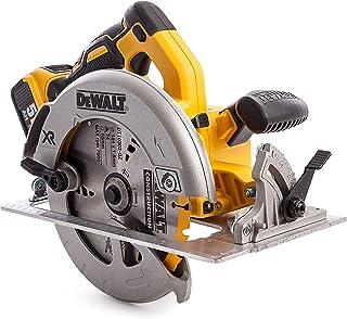 DEWALT DCS570P2 Cordless XR Brushless Circular Saw in T-STAK Kit Box, 18 V, Yellow/Black, 184 mm