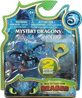 Dragons Mystery 2 Pack - Figuras de Juguete para niños, 4 año(s)