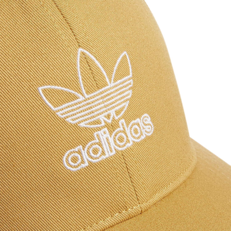 adidas Originals womens Outline Logo Relaxed Fit Cap