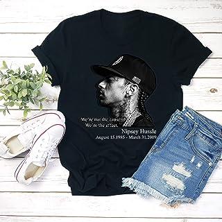 41dbebbb9 The Great Nipsey Marathon Hip Hop Rapper Hussle quote We Miss You Memorial  Unisex T-