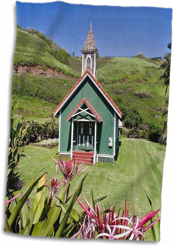 Amazon Com 3d Rose Hawaiian Church Kahakuloa Maui Hawaii Us12 Dpb1358 Douglas Peebles Hand Sports Towel 15 X 22 Home Kitchen