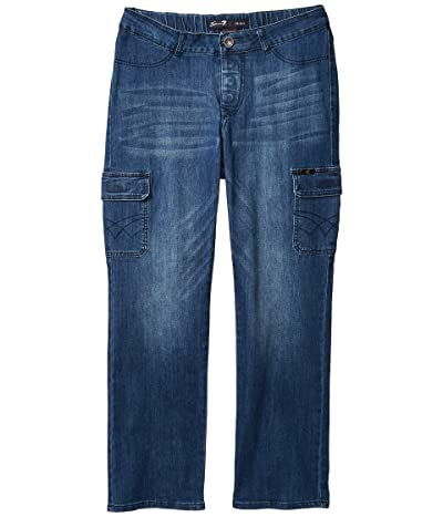 Seven7 Adaptive Seated Classic Straight Jeans w/ Magnetic Closure and Thigh Pockets in Peyre Medium Men